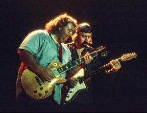 Bernie Marsden and Micky Moody