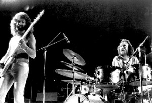 With Ginger Baker