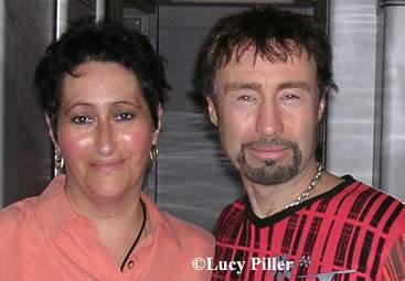 Lucy with Paul Rodgers