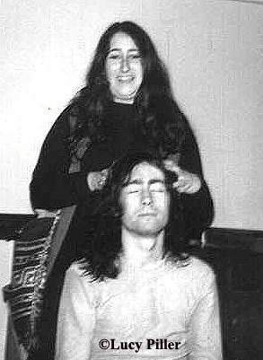Lucy with Paul Rodgers, 1970