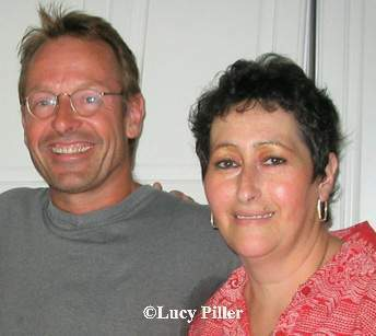 Lucy with Simon Kirke