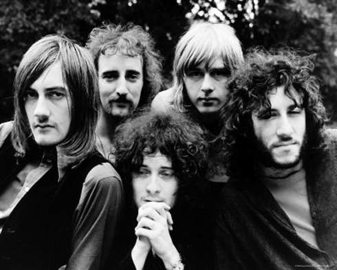 FLEETWOOD MAC Mick Fleetwood, John McVie, Jeremy Spencer, Danny Kirwan, Peter Green