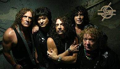 SWEET 2009: Stevie Stewart, Richie Onori, Joe Retta, Stuart Smith, Steve Priest