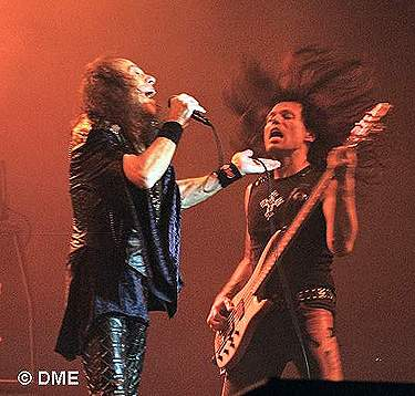 With Ronnie James Dio