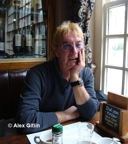 John Lawton, 2013 Photo by Alex Gitlin