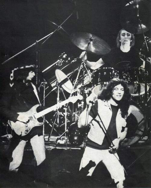 Ritchie Blackmore, Ian Gillan, Mick Underwood