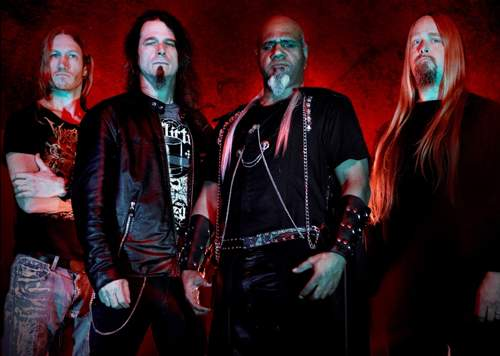 FROM HELL: George Anderson, Paul Bostaph, Steve Smyth, Damien Sisson