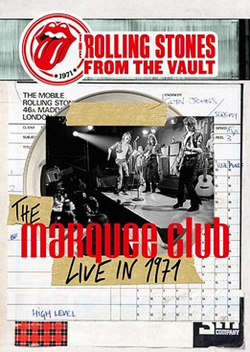 THE ROLLING STONES - The Marquee Club – Live In 1971