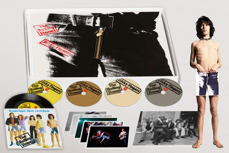 THE ROLLING STONES - Sticky Fingers - Deluxe Edition Box