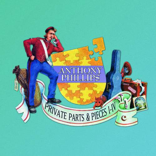 antppANTHONY PHILLIPS - Private Parts & Pieces I-IVpp