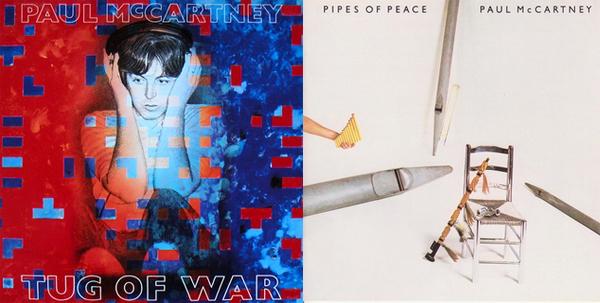 PAUL McCARTNEY - Tug Of War / Pipes Of Peace