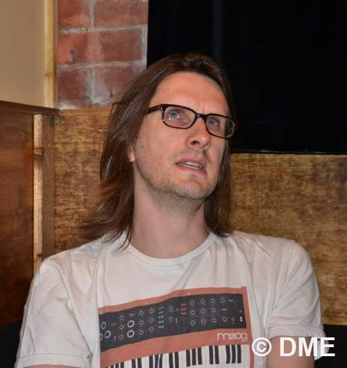 Steven Wilson during the interview / Photo © Eugene Bychkov