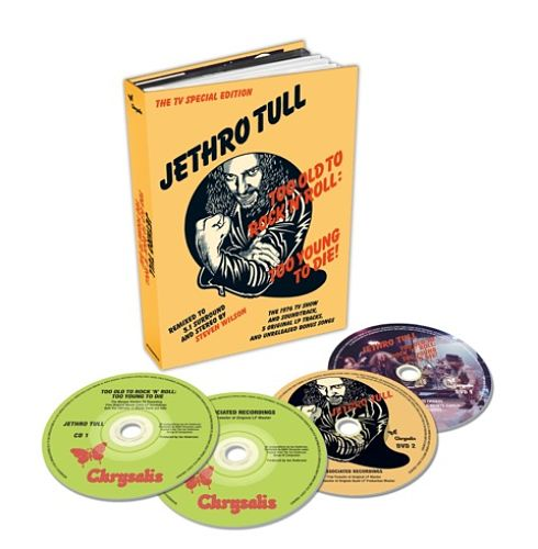 JETHRO TULL - Too Old To Rock 'n' Roll: Too Young To Die! - The TV Special Edition