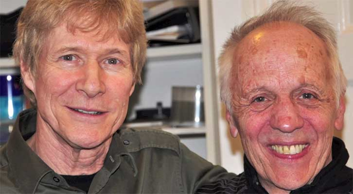 Paul Jones and Robin Trower