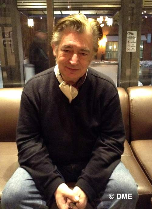 Chris Spedding during the interview