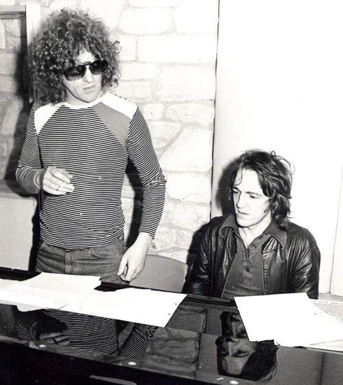Dicken with Ian Hunter