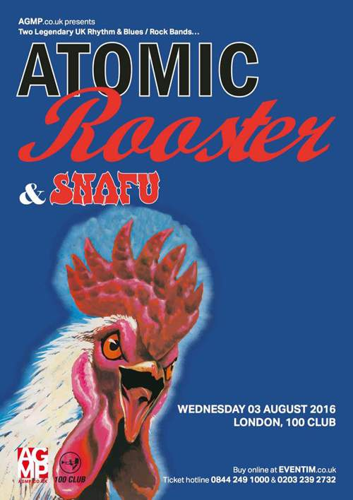 ATOMIC ROOSTER 2016