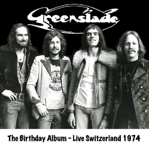 GREENSLADE - The Birthday Album - Live Switzerland 1974