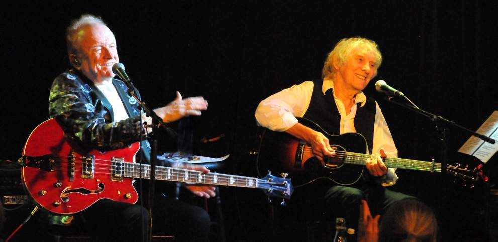 Peter Asher and Albert Lee / Photo © Tracey Savein