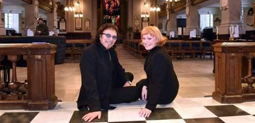 Tony Iommi and Catherine Ogle