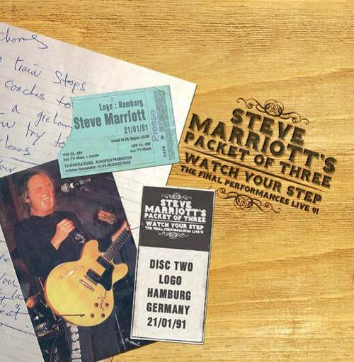 STEVE MARRIOTT'S PACKET OF THREE - Watch Your Step