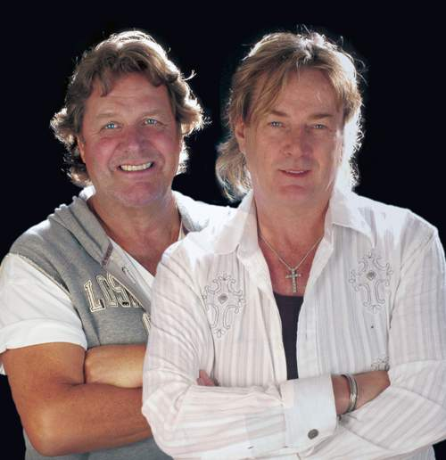 John Wetton and Geoff Downes