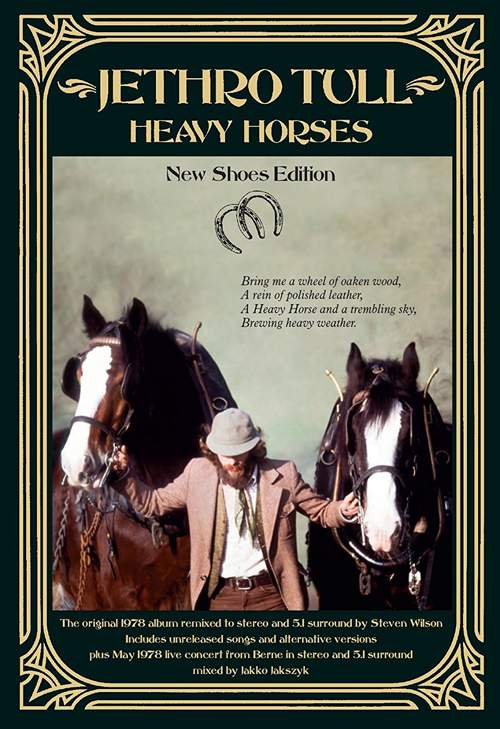 JETHRO TULL – Heavy Horses – 40th Anniversary Edition