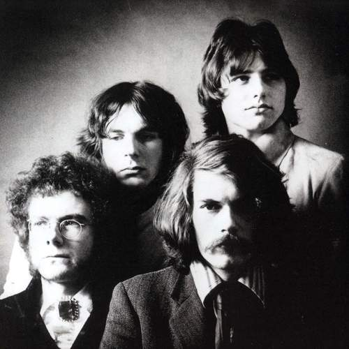 KING CRIMSON: Robert Fripp, Ian McDonald, Michael Giles, Greg Lake