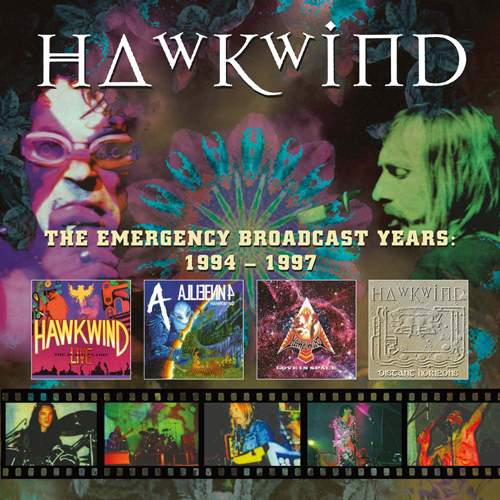 HAWKWIND - The Emergency Broadcast Years: 1994-1997