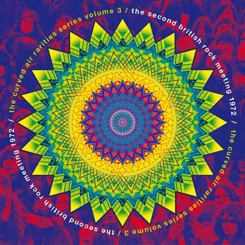 CURVED AIR - The Second British Rock Meeting 1972