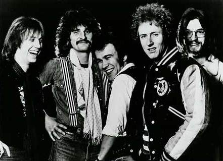 ROUGH DIAMOND: Clem Clempson, David Byron, Willie Bath, Geoff Britton, Damon Butcher