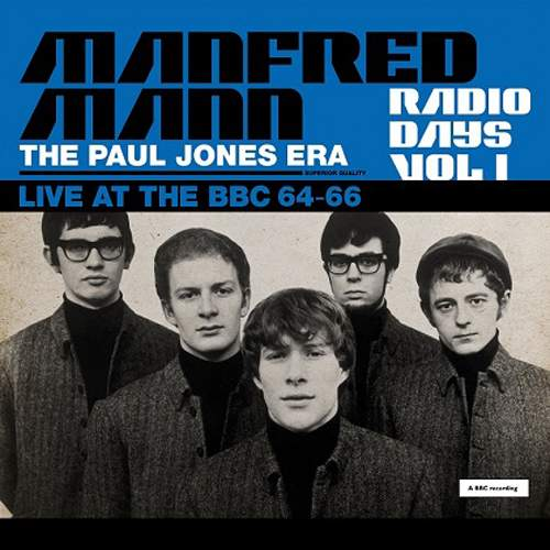 MANFRED MANN - The Paul Jones Era - Live At The BBC 64-66