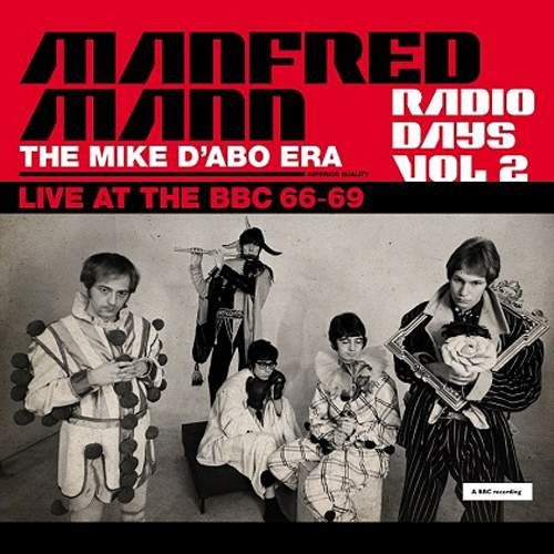 MANFRED MANN - The Mike D'Abo Era - Live At The BBC 66-69