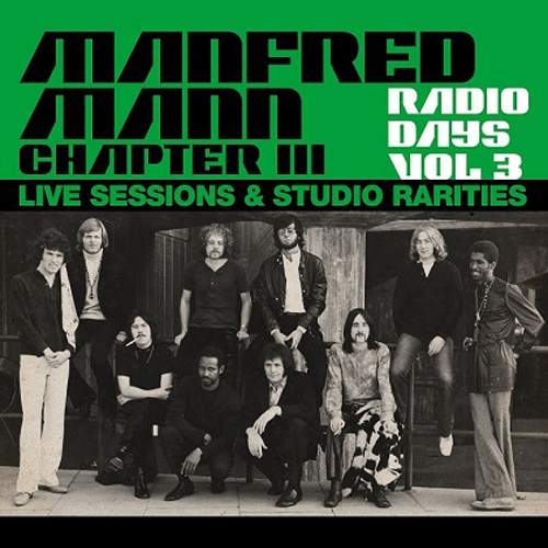 MANFRED MANN CHAPTER III - Live Sessions & Studio Rarities