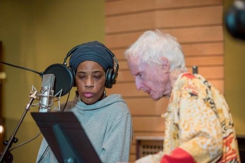 Macy Gray and Robby Krieger